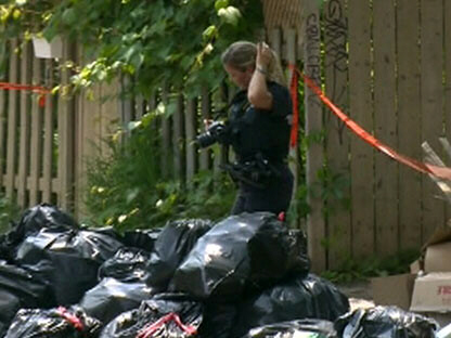 Police investigate after a severed human torso was found in Montreal