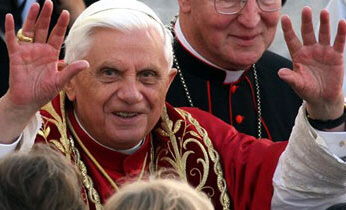 Pope Benedict XVI comes under a hail of criticism from the Islamic world