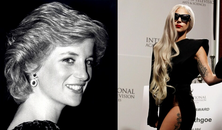 Princess Diana and Lady Gaga: The pop icon has released a song about