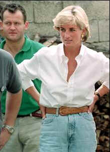Princess Diana is shown in this August 1997 photo with her butler Paul Burrell