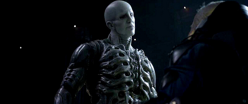 "A giant ""Engineer"" (Nephilim)  from the 2012 film, 'Prometheus'"