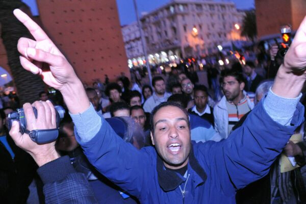 Protesters in Morocco demand overthrow of King Mohammed VI