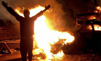 Rioting in Algeria