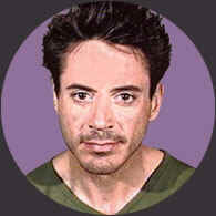 Drug addict celeb Robert Downey Jr