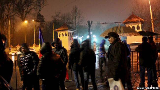 Romanians have been holding anticorruption protests since January