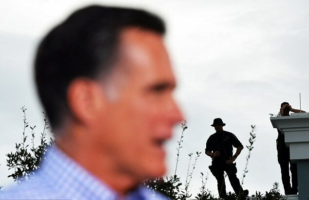 Romney has apparently also been in danger