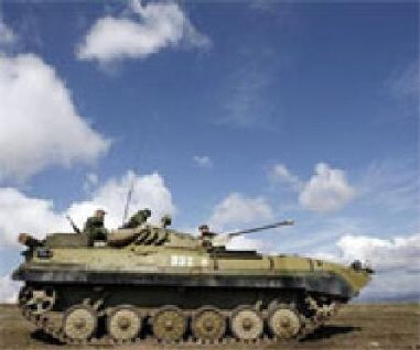 Russia raises readiness of troops in S.Ossetia