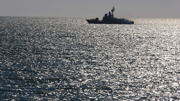 Russian ship patrols waters off Abkhazia