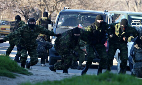 Russian special forces storm Belbek airbase
