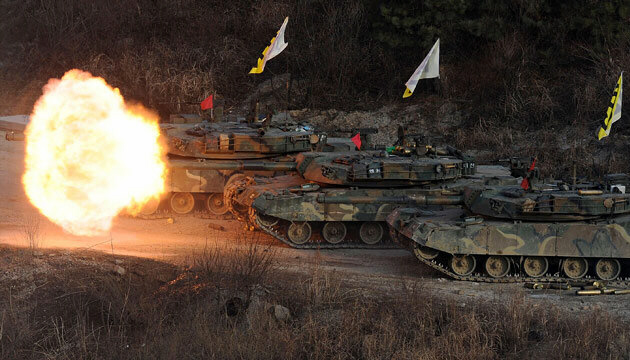 South Korea holds largest war games ever