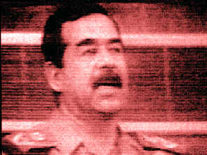 Saddam dies during nuclear attack on Baghdad