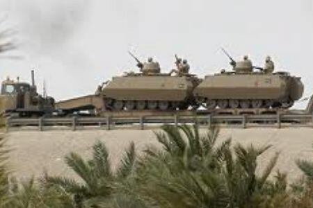 Saudi Arabia's tanks move into Eastern Province