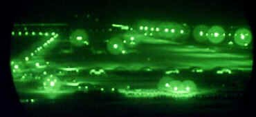 Saudi air base (night scope)