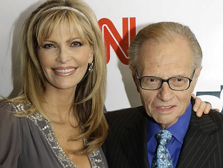 Shawn Southwick King and Larry King