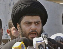 Iraqi Shiite cleric Muqtada al-Sadr declares the defeat of Israel