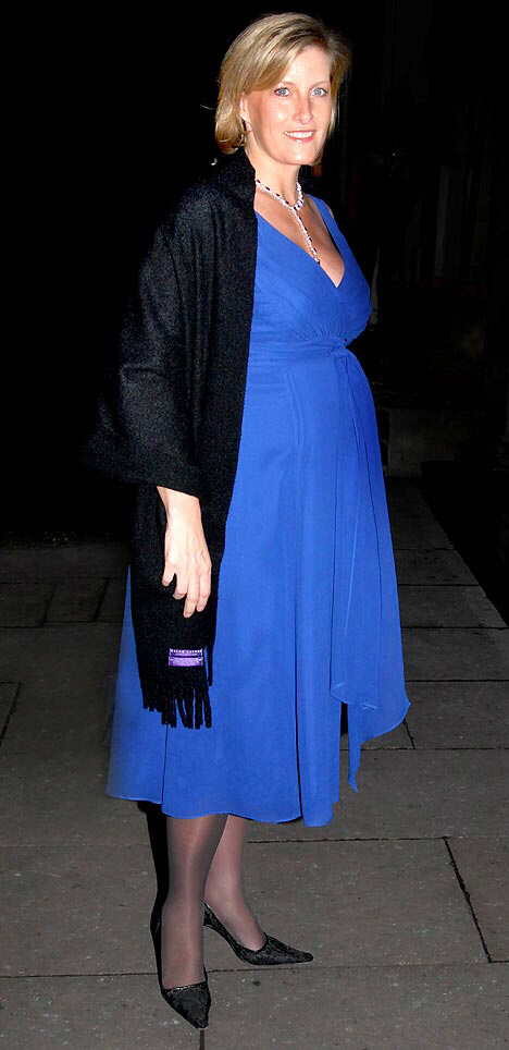 Sophie Wessex pregnant with the Queen's eighth grandchild