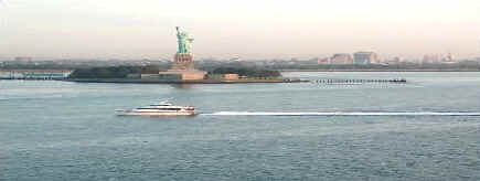 Statue of Liberty moves farther away from New York and becomes symbol of entire continent