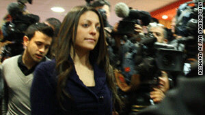 Stephanie Kercher, the sister of murdered student Meredith