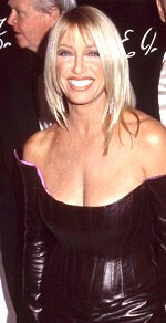 Actress Suzanne Somers not at home during raging inferno