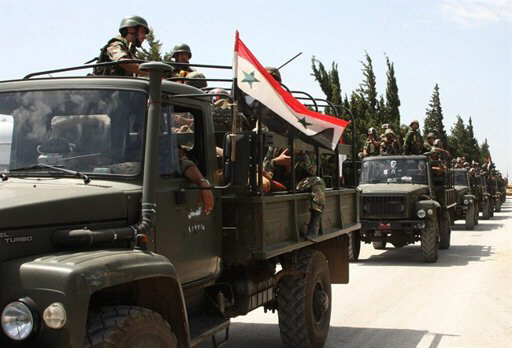 Syrian army on military trucks enter villages near Jisr al-Shughour