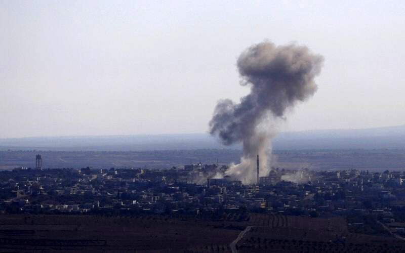 Syrian war plane shot down over Golan by Israel