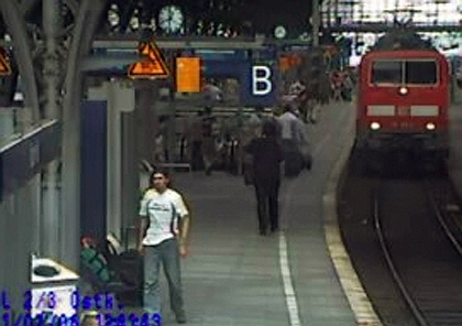 Terrorists in Germany succeeded in planting bombs on two regional trains