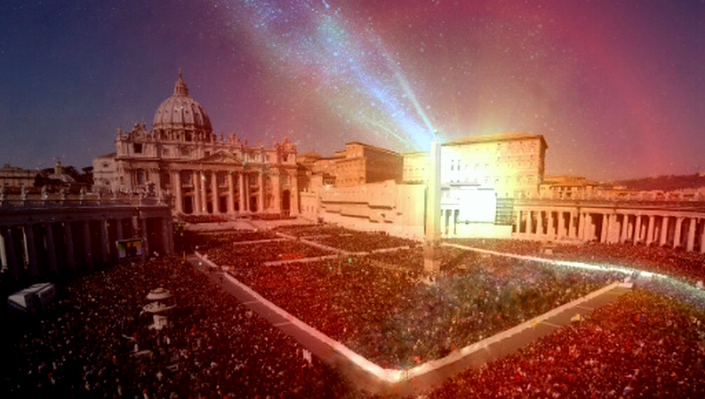 'The Great star' hovers over Vatican City