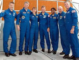 The STS-121 crew faces a 1-in-100 chance of dying