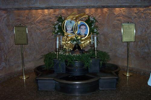 The Shrine to Diana and Dodi at Harrods's