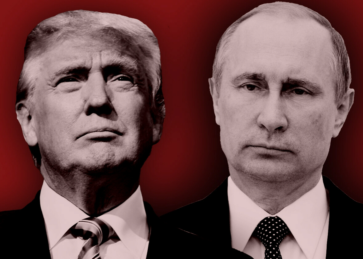 The US-Russian alliance may begin under Trump and Putin.