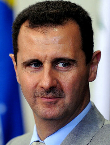 "The bloody Al-Assad (""Alus sanguinaire"") came to power in June 2000 upon the death of his father, Hafez al-Assad."