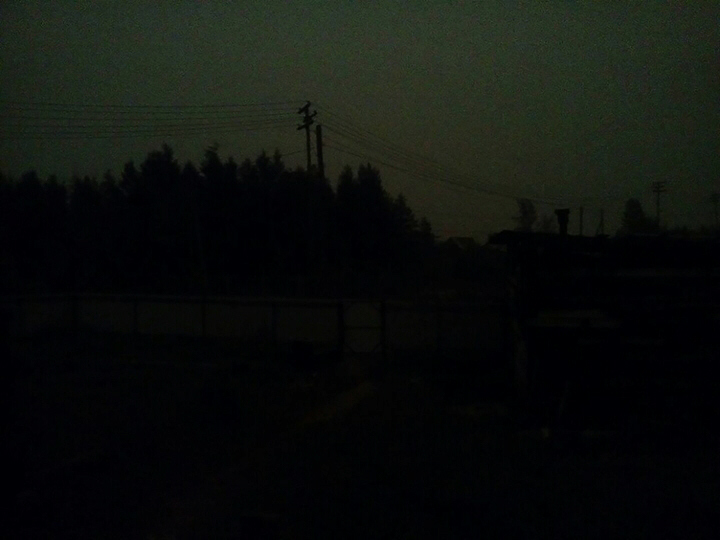 The great darkness of July 20, 2018 in Russia