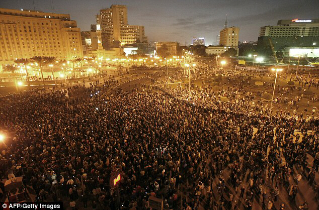The protests are the biggest that Egypt has seen in many years