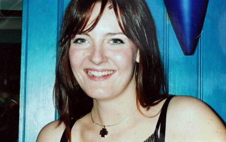 Midwife Theresa Naish, 28, hanged herself in the bathroom