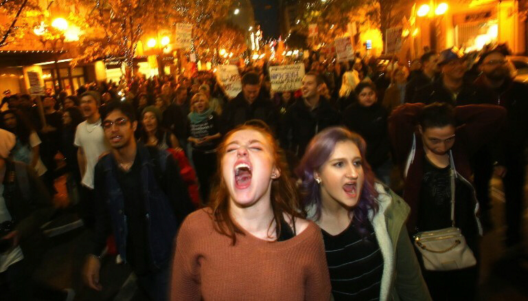 Thousands join anti-Trump protests across US