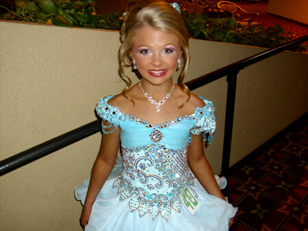 Girl of unknown age from TLC's 'Toddlers and Tiaras'