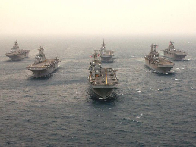 US carriers head for Gulf