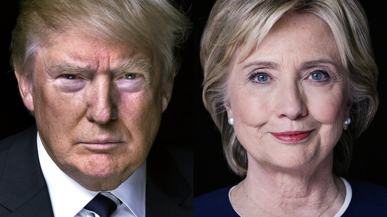 Trump vs Clinton Election 2016