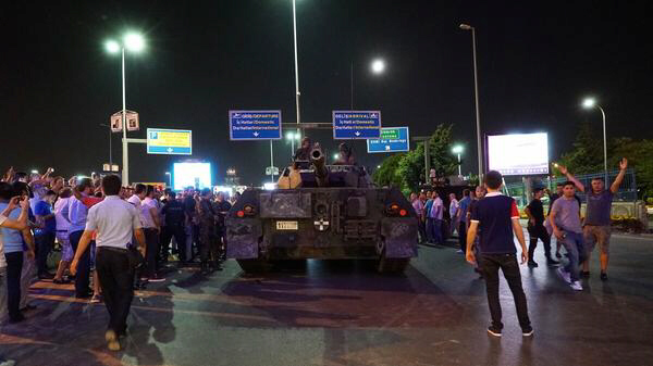 Turkey failed military coup