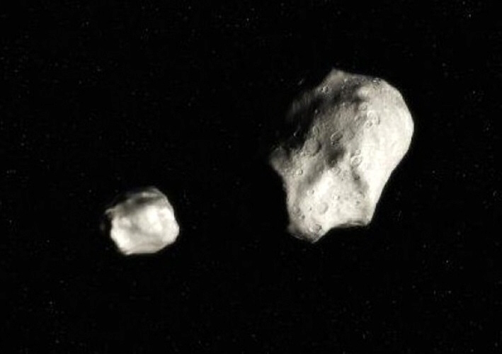 2011 GW9 and 2011 GP28 passed close to earth on April 6, 2011