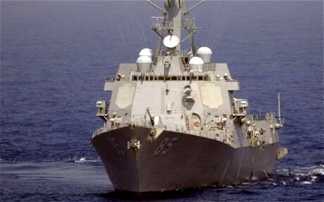 US navy turns back North Korean ship