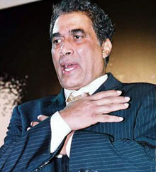 Zaki, who portrayed Nasser and Sadat on screen, is seen here playing the role of Count Dracula
