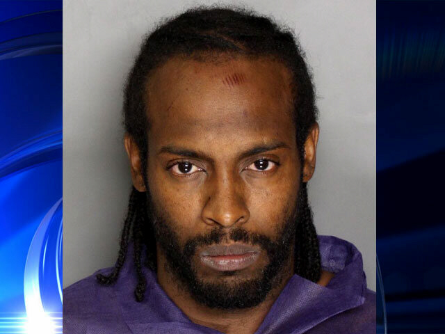 Naked zombie killer Moses Trotter was drenched in the blood of his 79-year-old victim
