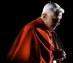 Is Pope Benedict XVI the 'Rose Pope' predicted by Nostradamus who spits blood and dies near a city 'watered by two rivers' or 'The Bishop Dressed in White' of the Third Secret of Fatima?