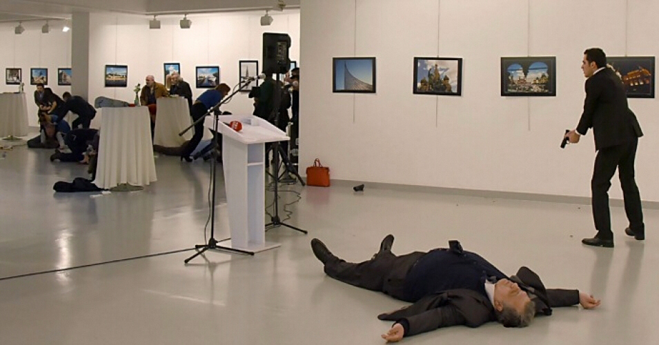 Russian ambassador assassinated